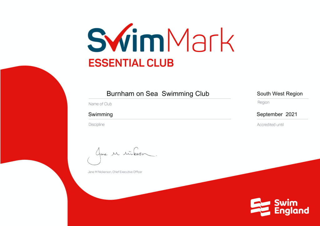 Swim Mark Accreditation